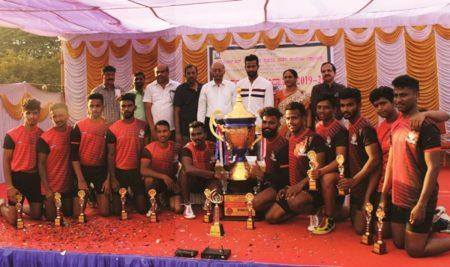 SBRR MFGC Won the VV Inter-College Kabbadi Trophy