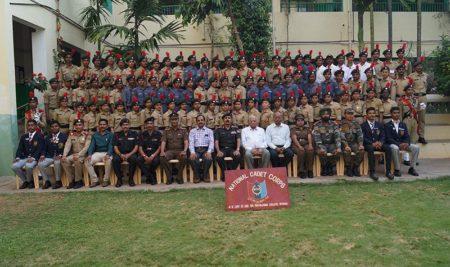 NCC Training Year 2017-18