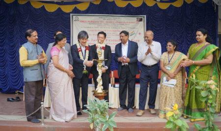 India – Japan friendship day celebration in SBRR MAHAJAN FIRST GRADE COLLEGE – 01 02 2020